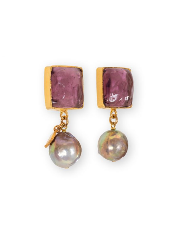 Earrings Loulou de La Falaise