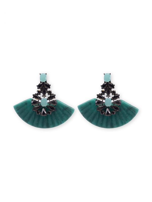 Summer turquoise earrings antibes