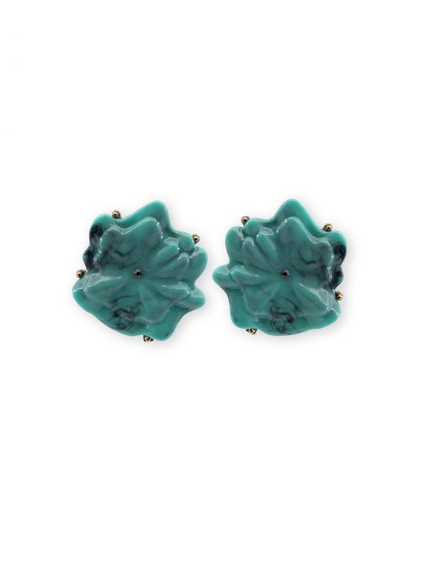 Turquoise earrings summer collection