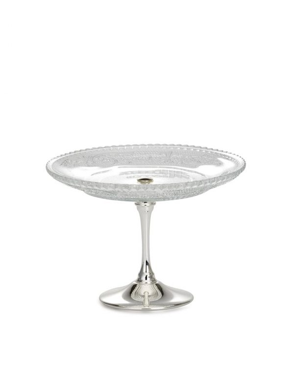 Standing Glass Dish